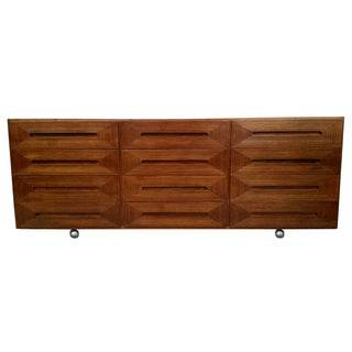 American of Martinsville 12 Drawer Credenza