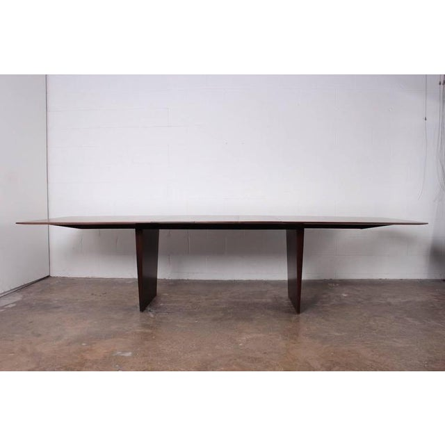 Large Walnut Dining Table by Edward Wormley for Dunbar - Image 3 of 10