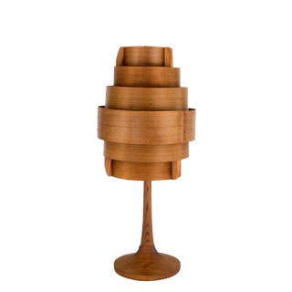Swedish Bent Pine Lamp by Hans Agne Jacobsen
