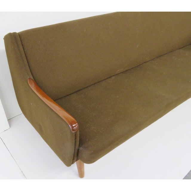 Danish Modern Daybed Pullout Sofa - Image 3 of 6