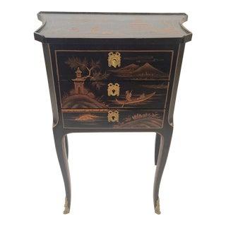 Chinoiserie Louis XVI Nightstand