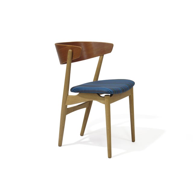 Bramin Teak and Oak Dining Chairs - Image 4 of 7