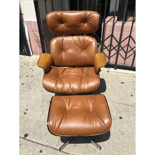 Mid-Century Lounge Chair & Ottoman by Plycraft - Image 2 of 4
