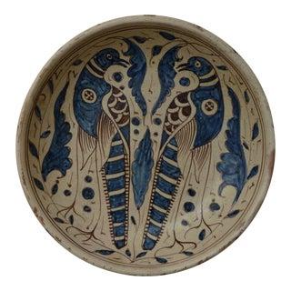 Italian Mid Century Modern Art Pottery Plaque