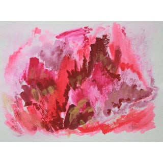 Passion Flip #6 Abstract Painting by Cleo