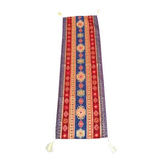 Turkish Kilim Pattern Table Runner