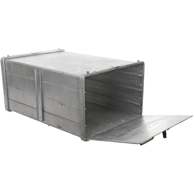Image of Vintage Seco Aluminum Food Service Storage Bin