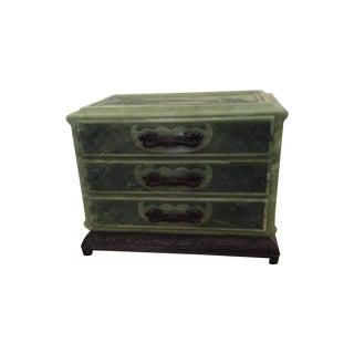 Decorative Asian Box with Drawers