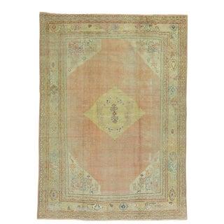 Antique Turkish Oushak Rug, 6'7''x 8'10''