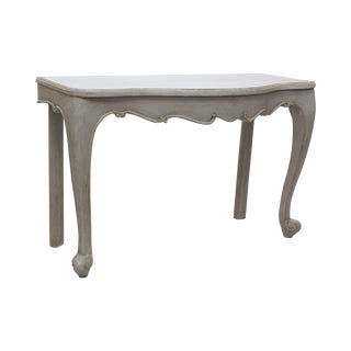 Juliette Console Table in Oyster Gray
