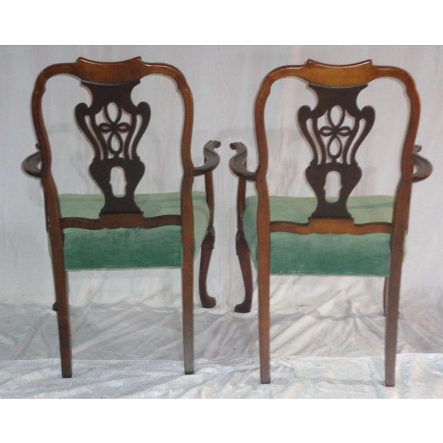 Batesville Mahogany Dining Chairs- Set of 6 - Image 11 of 11