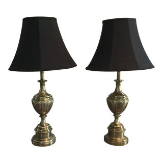Stiffel Brass Lamps - A Pair
