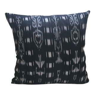 Guatemalan Indigo Ikat Pillow