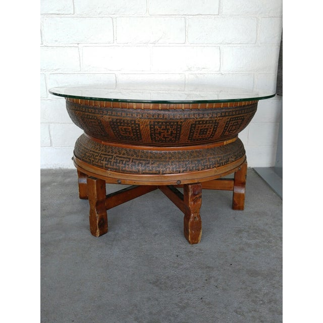 Boho Style Coffee Table - Image 7 of 7