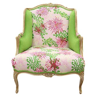 French Bimini Lilly Wingback Chair