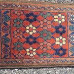 Image of Baluchi Persian Rug - 1′4″ × 2′
