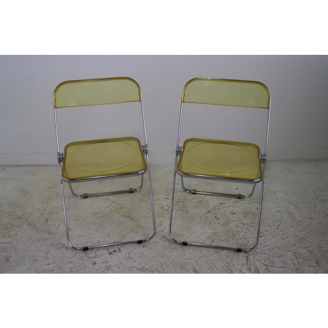 Castelli Plia Lucite Folding Chairs - A Pair - Image 4 of 6