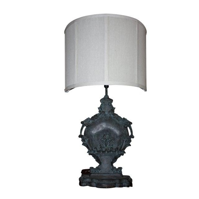 Josephine Urn Lamp with Shield Shade - Image 1 of 2
