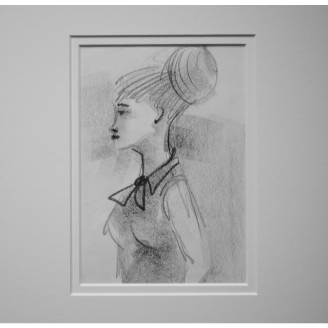 Mid-Century Figurative Drawing - Image 3 of 3