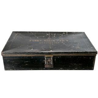 Vintage Parke-Davis & Co.'s Antitoxin Tin