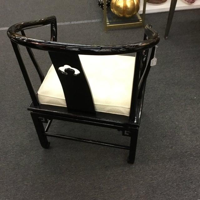 Image of Enamel Chinese Horseshoe Chairs