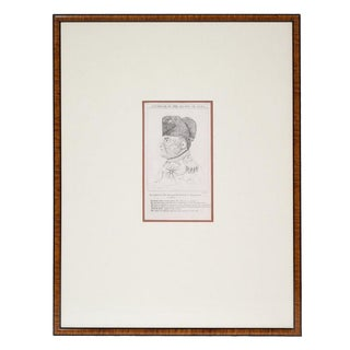 Framed Napoleon Article Print