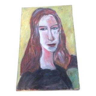 """Red Headed Woman"" Painting"