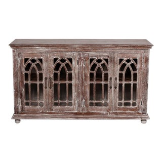 Romanesque Styled Sideboard Buffet