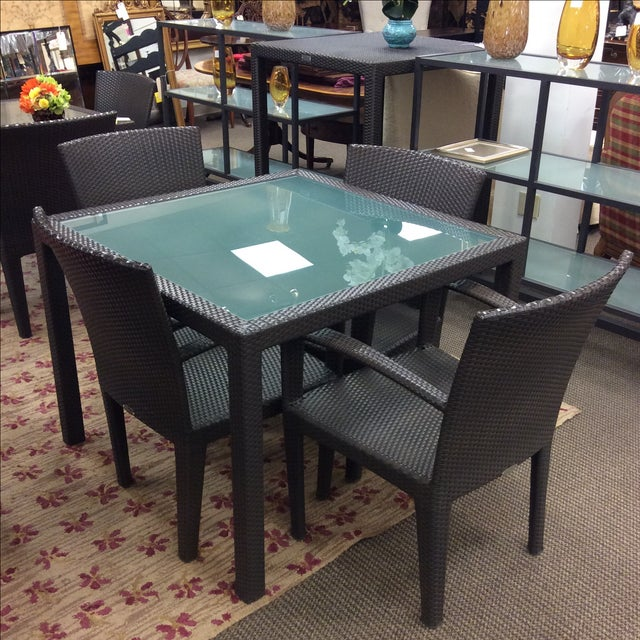 Dedon Outdoor Dining Set - Image 2 of 7