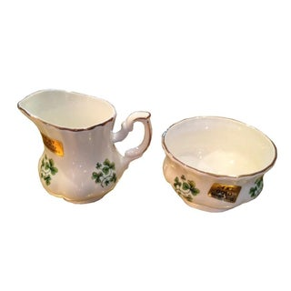 Vintage Sugar and Creamer - Pair