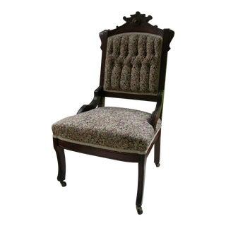 Antique Victorian Eastlake Side Chair