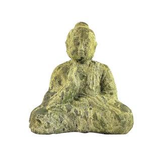 Jade Green Sitting Buddha Statue