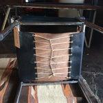 Image of Mid Century Safari Leather Chair