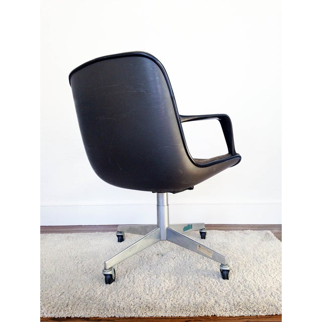 Charles Pollock for Knoll Tweed Office Chair - Image 3 of 6