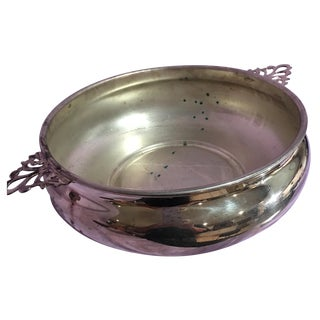 Sheffield Silver-Plate Porringer Bowl