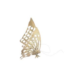 Mid-Century Brass Butterfly Figurine