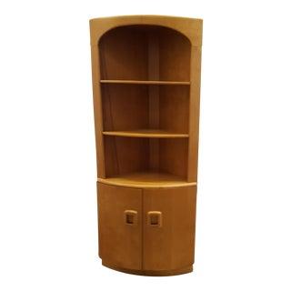 Heywood Wakefield Wall Corner Cabinet.