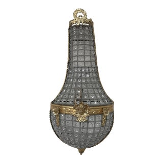 French Gold Leaf Sconce