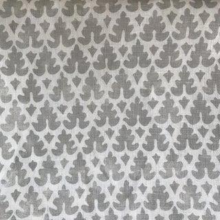 Quadrille Hand Blocked Linen Textile
