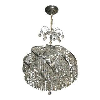 Swarovski Crystal Round Spiral Chandelier