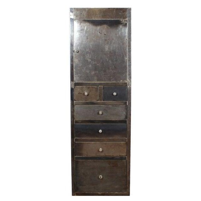 Vintage Industrial Medical Cabinet - Image 1 of 5