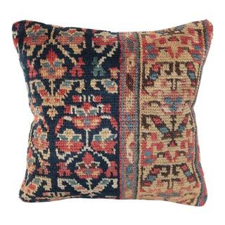 Antique Caucasian Rug Pillow