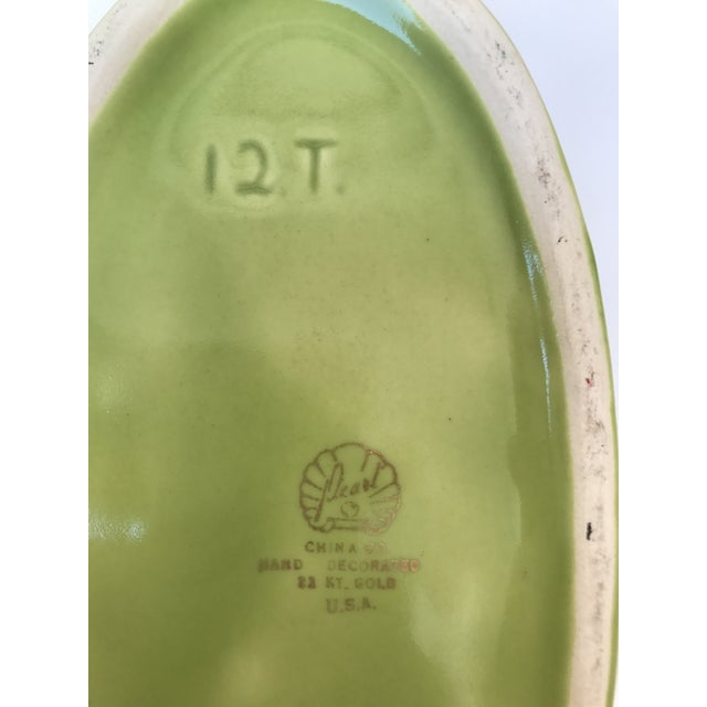 Chartreuse Green Flower Vase - Image 5 of 9