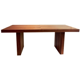 Milo Baughman Walnut Dining Table