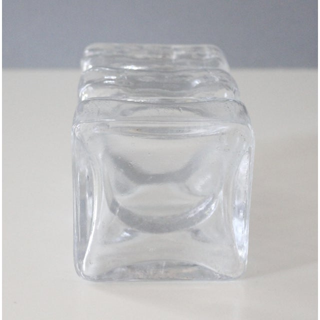 Riihimaen Finland Pala Glass Vase Modernist Helena Tynell Riihimaki Lasi Oy - Image 6 of 6