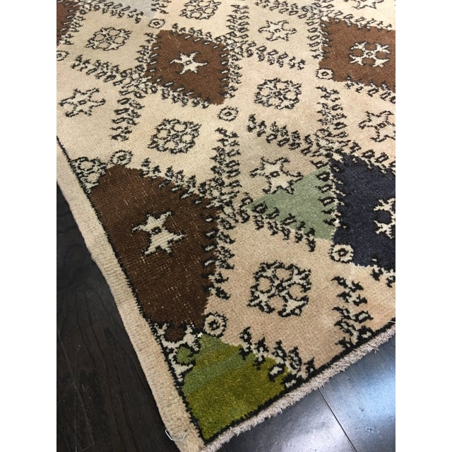 Vintage Turkish Zeki Muren Designed Rug - 4'10 X 7' - Image 7 of 8