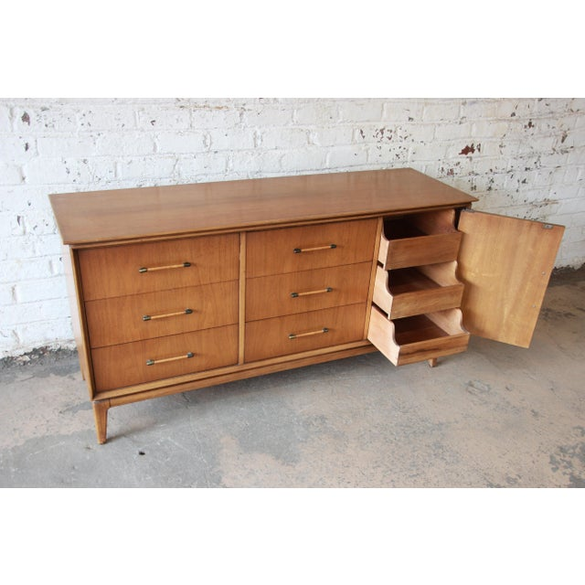 Mid-Century Modern Long Dresser by Century Furniture - Image 6 of 10