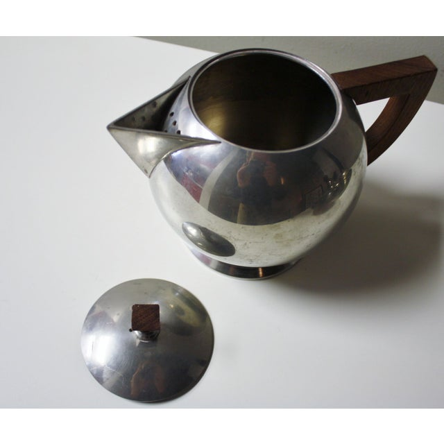 Image of French Pewter Tea or Coffee Server