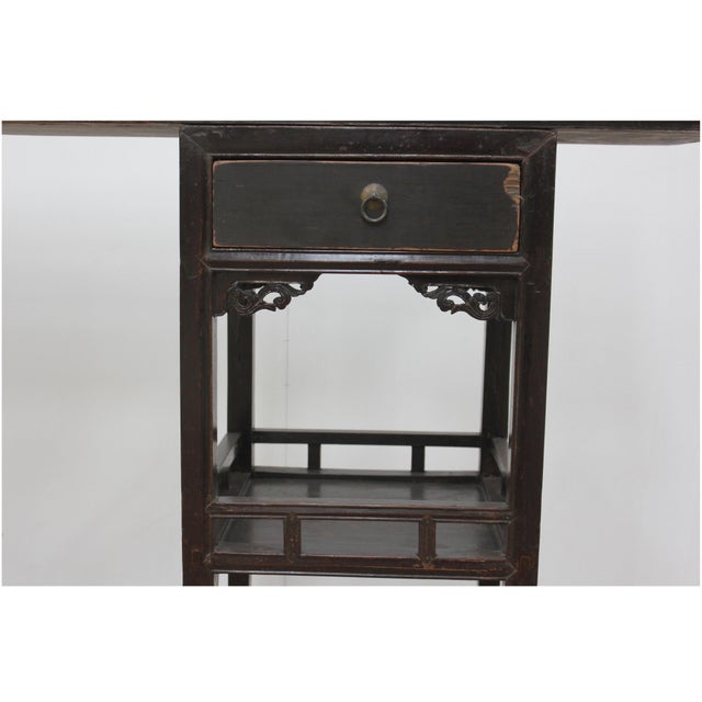 Antique Sarreid LTD Ming Style Console Table - Image 4 of 5