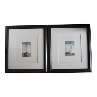 Limited Edition Sailing Prints - A Pair